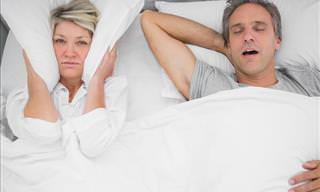 How to Prevent Your Partner from Snoring