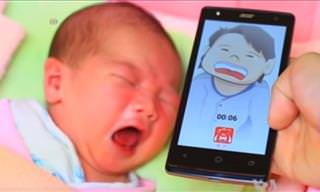 New App Tells Parents What Their Crying Baby Wants