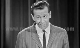 Footage of Young George Carlin As a Beginning Comedian!
