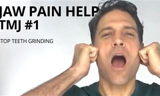 Stop Teeth Grinding With These Useful Jaw Stretches