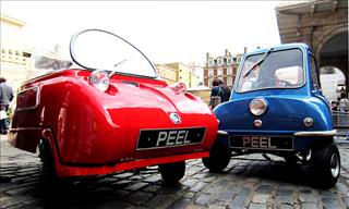 The World's Smallest Cars - The Peel Trident & P50