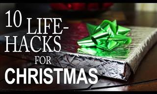 Ten Genius Christmas Life Hacks You Surely Never Thought Of