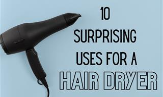 10 Unexpected Handy Uses for a Hair Dryer
