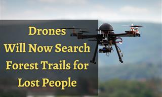 With AI's Help, Drones Will Search Forests for Lost People