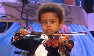 This Child Makes Classical Musicians Woop With Glee!