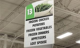 Here Are 17 Sidesplitting Signs to Make Your Day!