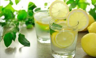 Reasons to Drink Lemon Water