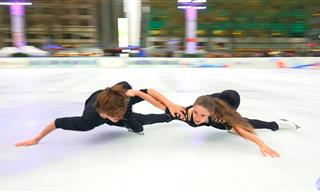 A Truly Breathtaking Couples Ice Skating Performance!