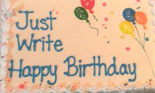 20 Ridiculous Cake Misunderstandings