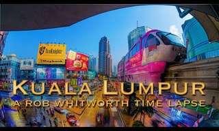 Night and Day in Kuala Lumpur!
