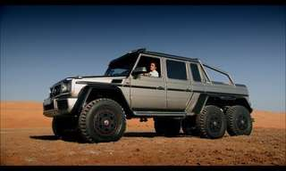A Test Drive for the New Mercedes G63 AMG 6x6.