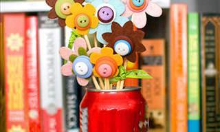 7 Amazing Button DIY Crafts
