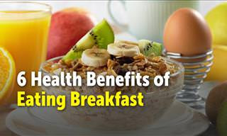 6 Health Benefits of Eating Breakfast