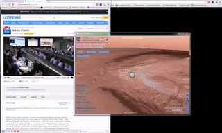 Landing On Mars - A Historic Moment!