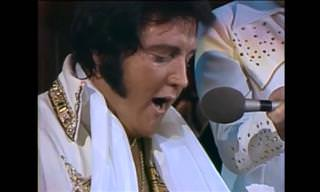 Rare Footage of Elvis Presley Introducing Unchained Melody