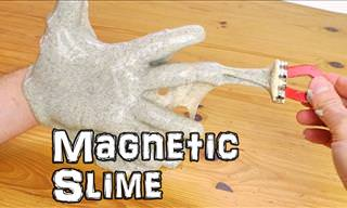Kid Games DIY: How to Make Magnetic Slime!
