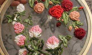 The Stunning Embroidery Work of Krista Decor