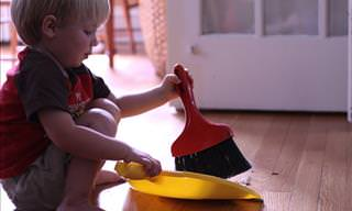 The Ultimate Kid's Cleaning Chores Guide: Infographics