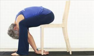 7 Hip & Back Exercises Performed On a Chair