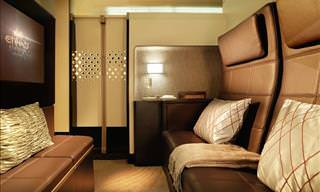 5 of the World's Cushiest First Class Plane Cabins