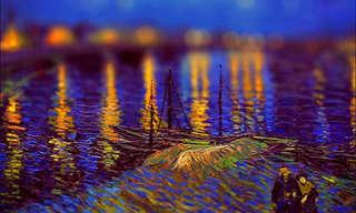 Tilt-Shifting Van Gogh