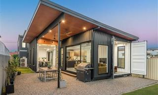 Old Shipping Containers Turned Into Beautiful Homes