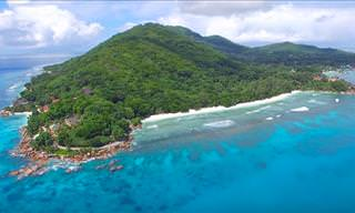 Check Out the Seychelles From Way Up Above!