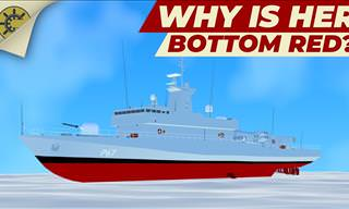 Why Is the Bottom of a Ship Usually Painted Red?