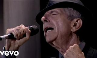 Hallelujah! Watch Leonard Cohen Perform His Popular Song