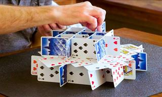 Incredible Card Stacks and How To Do Them!