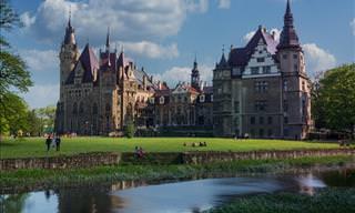 Discover Poland's Moszna Castle