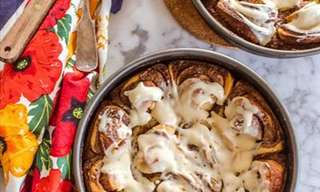 Spicy, Sweet and Sticky Cinnamon Rolls!