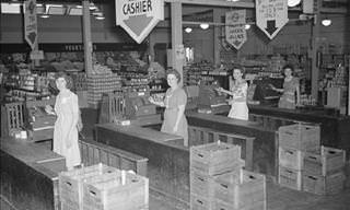 Vintage Grocery Store Photographs