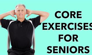 This Seated Core Workout Is Perfect for Seniors and Beginners