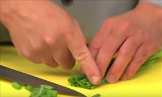 How to Dice Green Onions Like a Professional