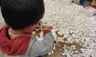 Children Rebuilding Japan - Beautiful!