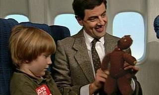 Classic Comedy: Mr. Bean on a Plane
