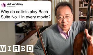 Legendary Cellist Yo-Yo Ma - An Interview All Must See