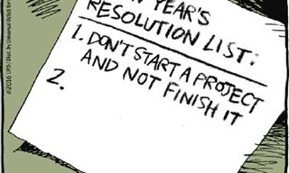 Comics Showing The Fun Realities of New Year's Resolutions
