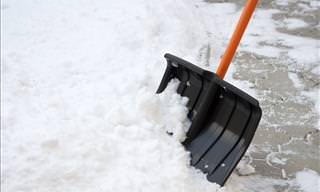 Shoveling Snow This Year, Use This Great and Simple Trick