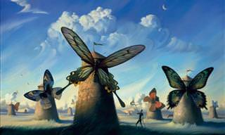 Vladimir Kush's surreal art will leave you astounded