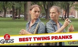 Just for Laughs - Twin Pranks