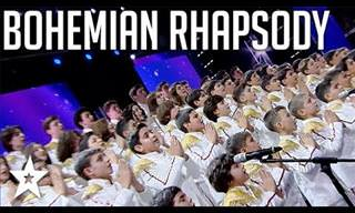This Kids Choir's Bohemian Rhapsody Blows The Judges Away