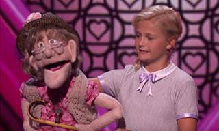 This Young Ventriloquist Gives a Stellar Performance