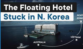 Floating Hotel on the Brink of Demolition in North Korea