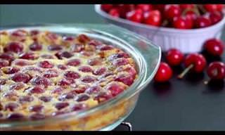 A Stunning Cherry Dessert