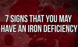7 Tell-Tale Signs That You Might Be Iron-Deficient