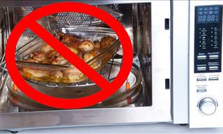 Leftover Foods That Don't Belong in the Microwave