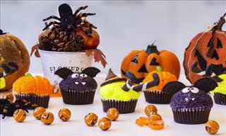 3 Clever and Easy Halloween Cupcakes