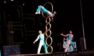 Acrobats From China Perform Impossible Feats